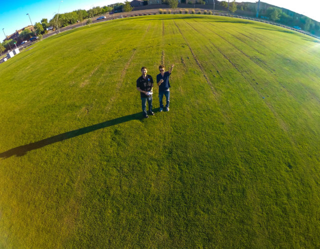 gopro drone picture