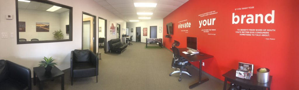 inside the inflight creations office